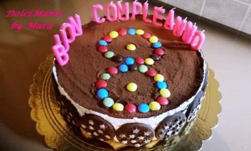 Pan di Stelle Torta Compleanno