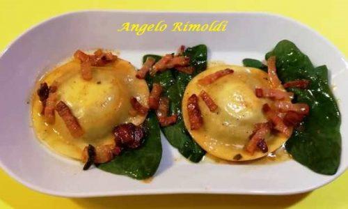 Ravioli Ripieni di Ricotta e Spinaci
