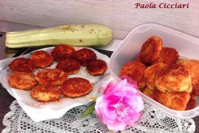 Polpette di Zucchine Fritte Croccanti