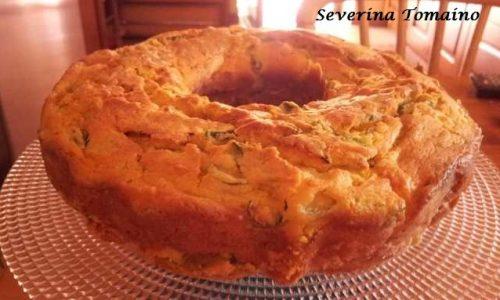 Ciambella Rustica con Ricotta e Zucchine