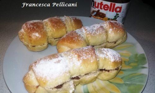 Flauti alla Nutella – Pasta Brioche