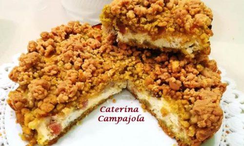 Torta Sbrisolona Salata Ripiena