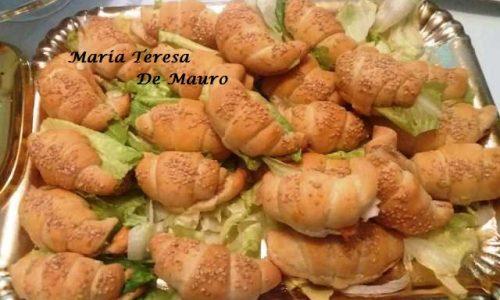 Cornetti di Pan Brioche Salati e Farciti