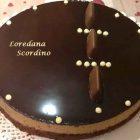 Torta Mousse al Caffè con Glassa a Specchio al Cioccolato