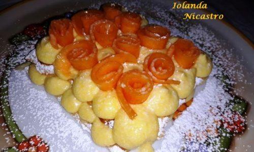 Dolce di Sfoglia Caramellata con Crema e Melone