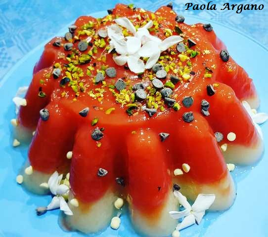 gelo di anguria e melone bianco
