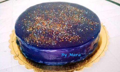 Cheesecake con Glassa a Specchio