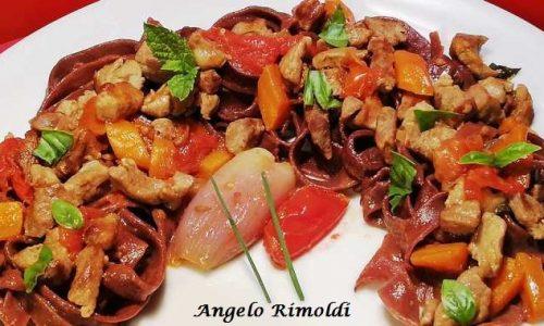 Tagliatelle al Cacao con Ragù di Agnello