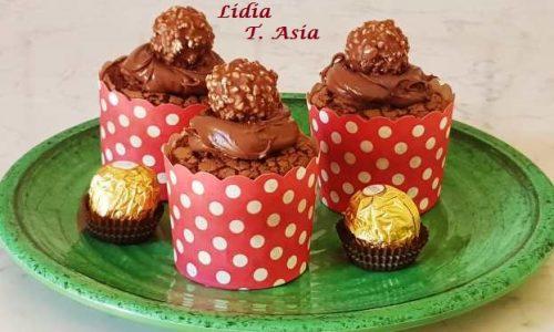 CupCakes Rocher – Cioccolatosi !