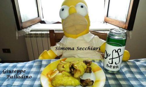 Cosce di Pollo alla Homer Simpson