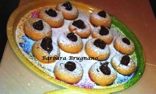 Biscottini alla Vaniglia con Nutella