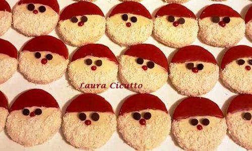 Biscotti Babbo Natale di Frolla