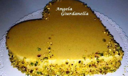 Torta Moderna con Glassa al Pistacchio