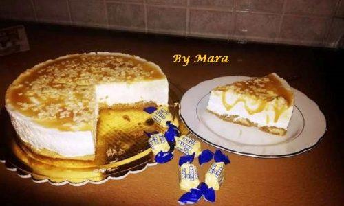 Torta Fredda al Latte Condensato e Caramello