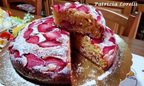 Torta Soffice con Fragole e Mascarpone